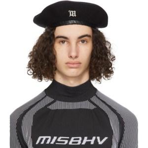 MISBHV Black Wool Beret