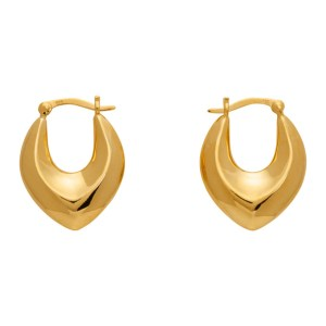 Sophie Buhai Gold Clio Hoop Earrings