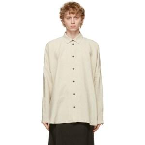 Jan-Jan Van Essche Beige Wide Fit Shirt