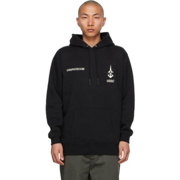 N.Hoolywood Black Test Product Exchange Service Usspacecom Hoodie