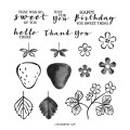 Sweet Strawberry Photopolymer Stamp Set