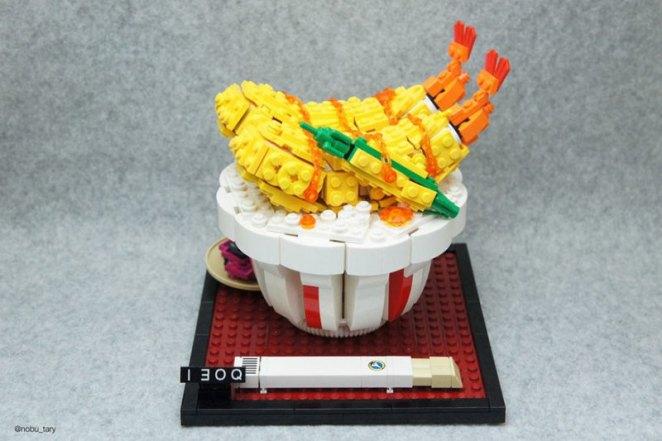 Lipsmacking Lego Food Art - Digital Art Mix