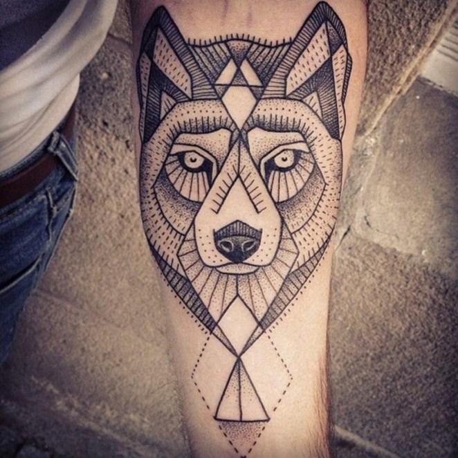 40 More Geometrically Satisfying Tattoos - Digital Art Mix