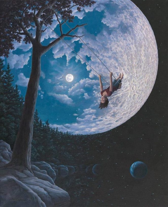 Master of Illusion - The Art of Rob Gonsalves - Digital Art Mix