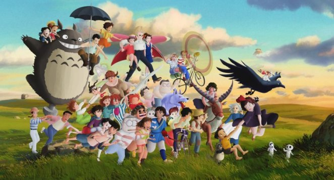Beautiful Anime Art Inspired by Studio Ghibli - Digital Art Mix
