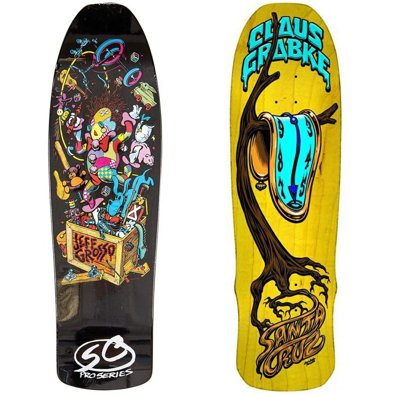 Reskate: Old skateboards are rescued and turned into amazing ...