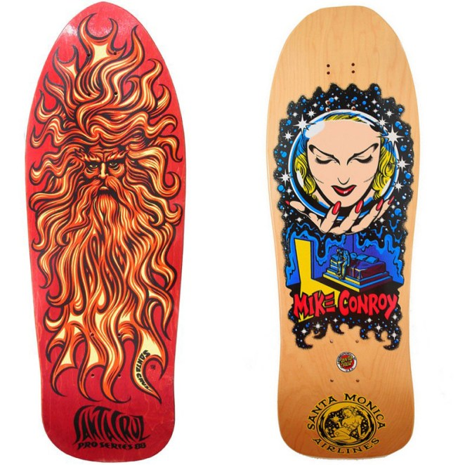 Skateboard Art From The 80s And 90s