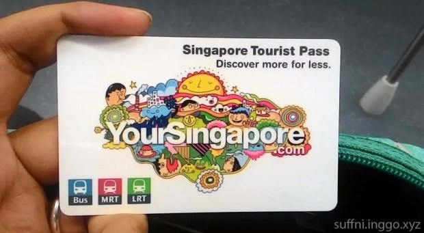 First thing to do when you arrive in Changi Airport: Get a tourist pass! We got the 3-day pass for $30 each ($10 rebatable). Worth it!