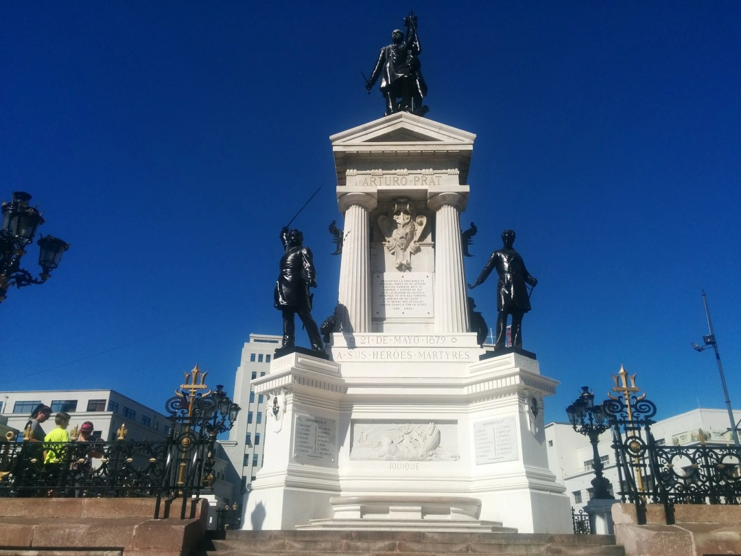 Monument for Arturo Prat, Heroes, and Martyrs