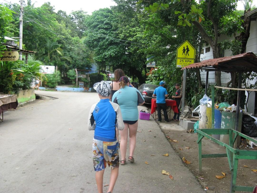 Lucas, Sydney and Karen in Montezuma