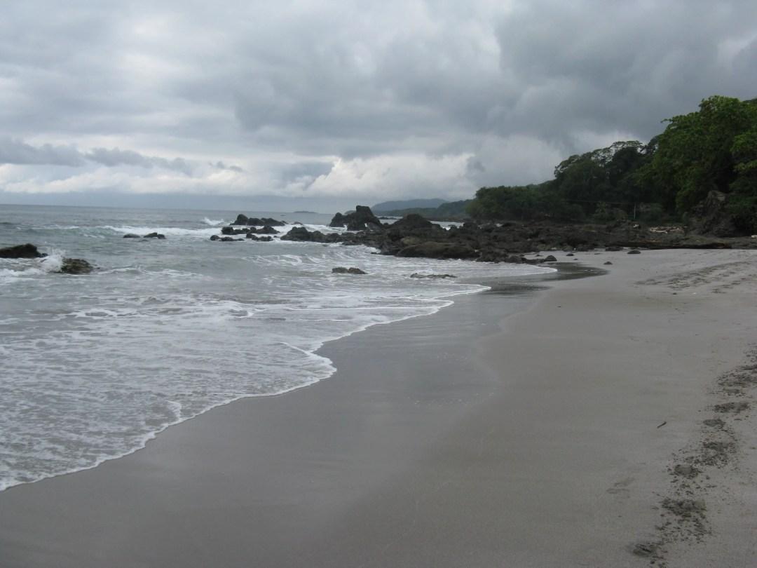 Montezuma beach, looking southwest