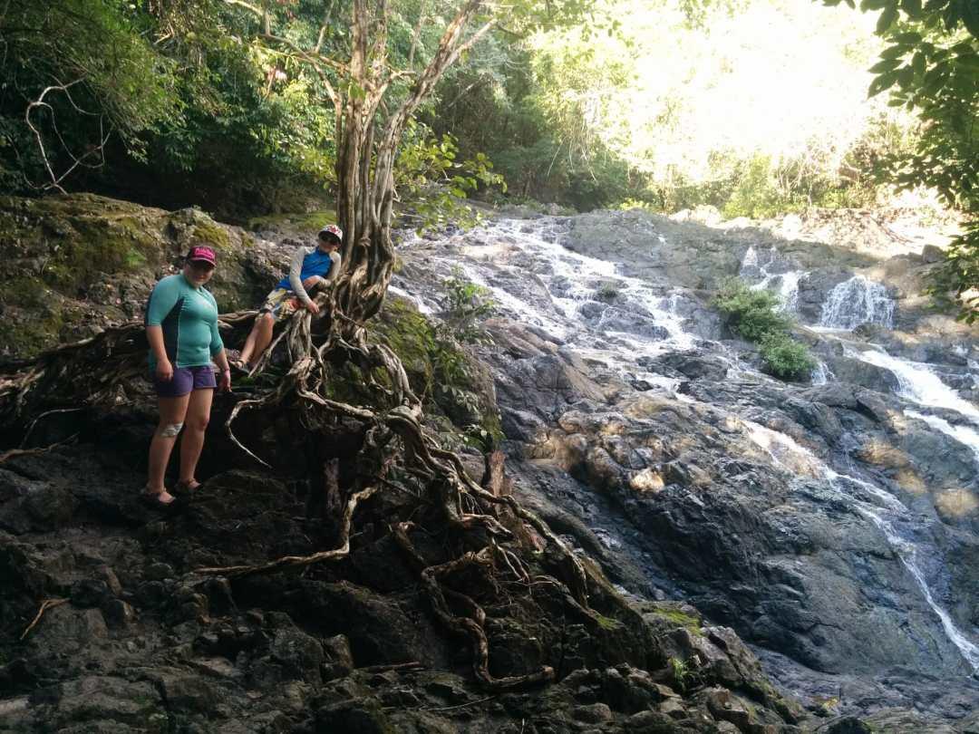 On the hike to Montezuma Falls