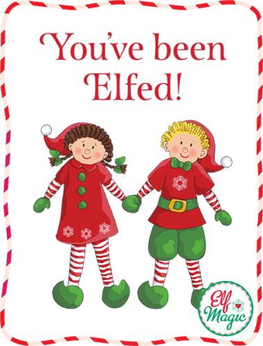 Youve Been Elfed Game Santas Magic Elf Fun