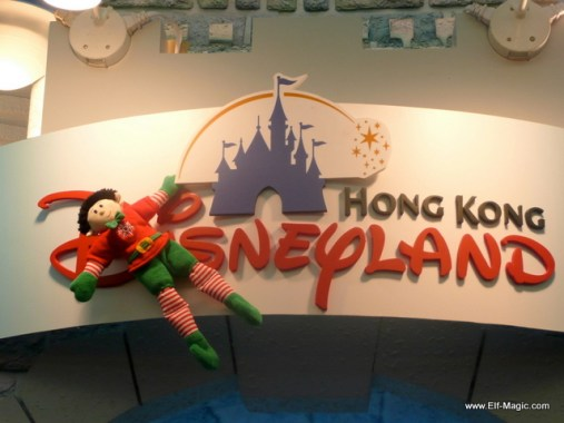 Elf in Hong Kong at Disneyland