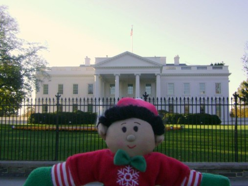 Elf at the White House