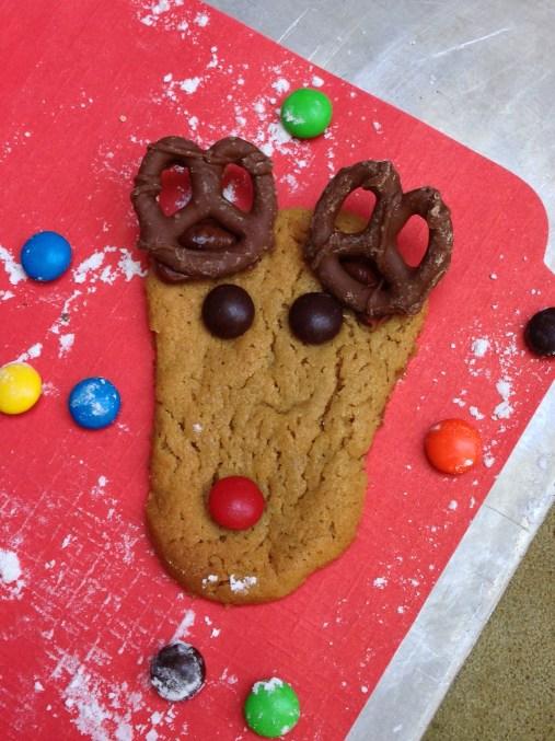 Reindeer Cookie