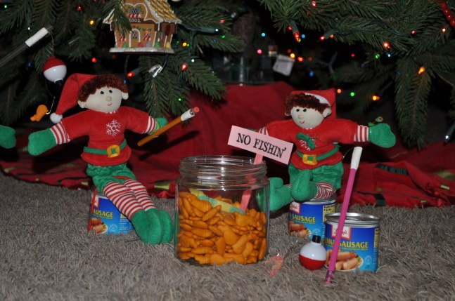 Elves at the fishing hole