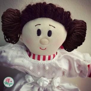 Elf in Star Wars Leah costume