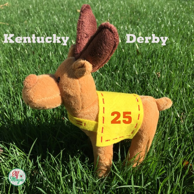 Elf Kentucky Derby - Reindeer Jocky