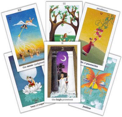 tarot reading with the Sun and Moon Tarot