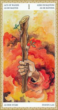 lo scarabeo tarot ace of wands