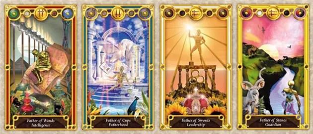 tarot court cards kings