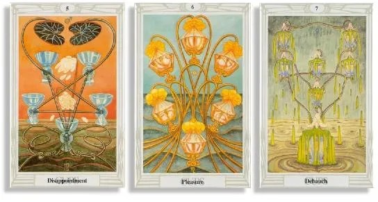 thoth tarot cards corresponding to scorpio
