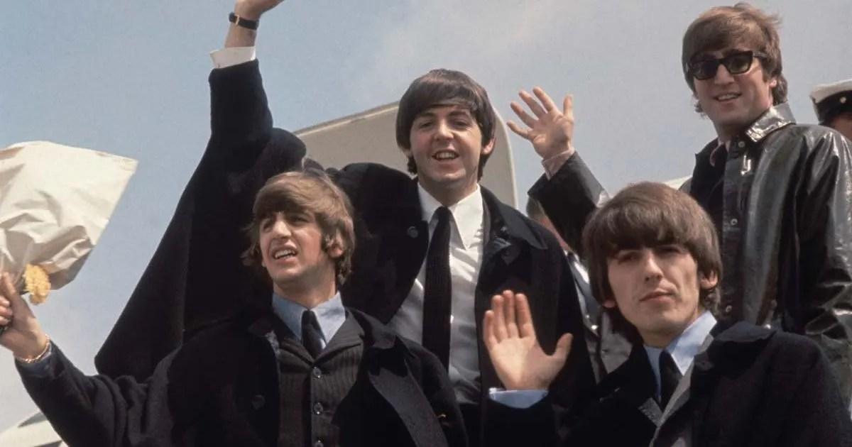 Comienza la invasión estadounidense de los Beatles