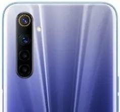 Realme 6 rear camera image