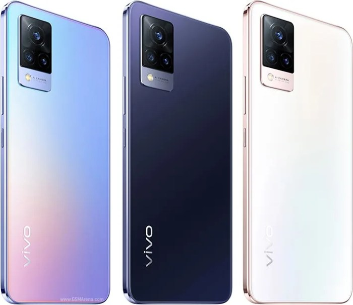 Vivo V21 5G colours