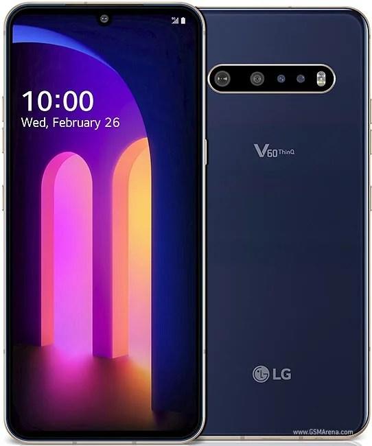 LG V60 THINQ looks