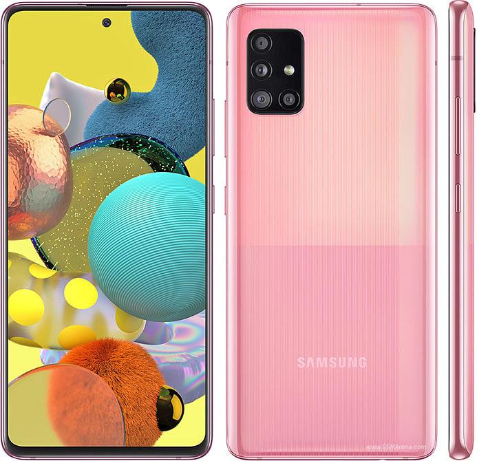 Samsung Galaxy A51 5G design