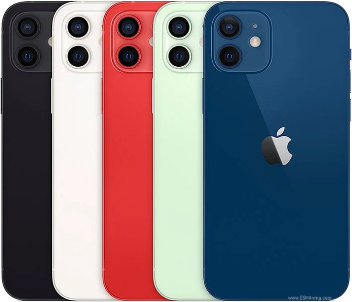 iPhone 12 colours.