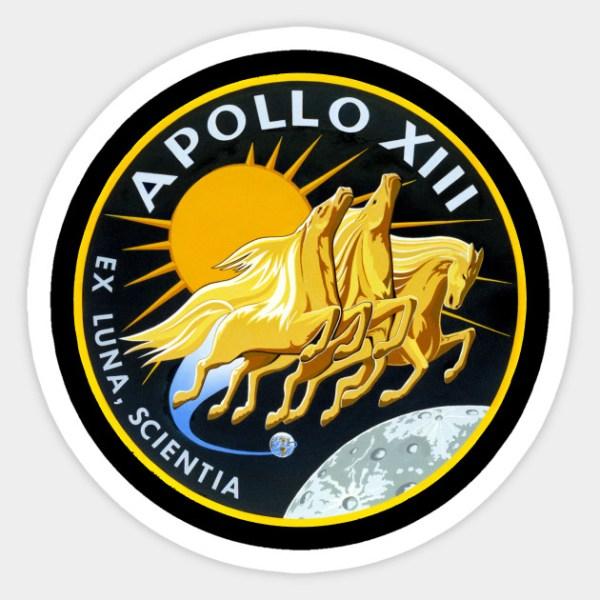 Apollo 13 NASA Mission Astronaut Patch Apollo 13