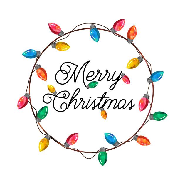Merry Christmas Lights Clipart | Decoratingspecial.com