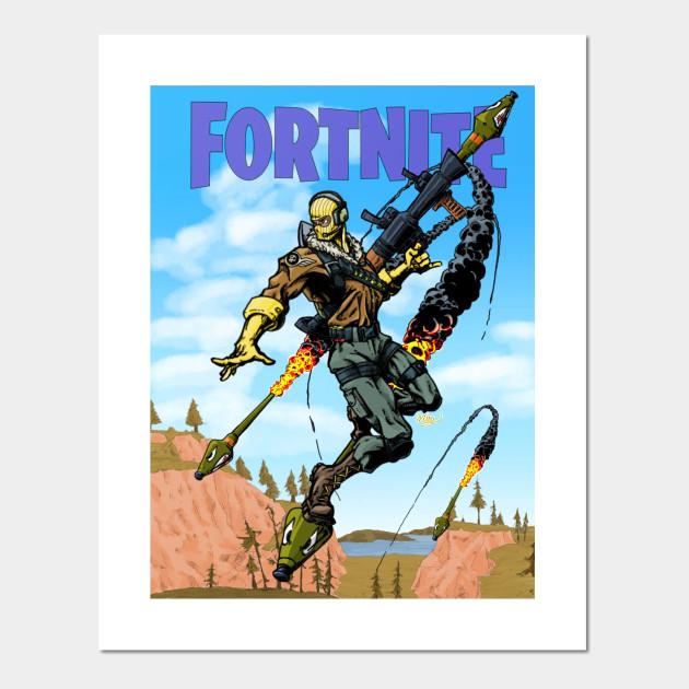 Fortnite Raptor Fortnite Posters And Art Prints