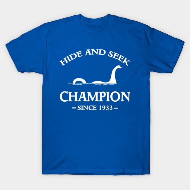 Hide And Seek Champion Loch Ness Monster