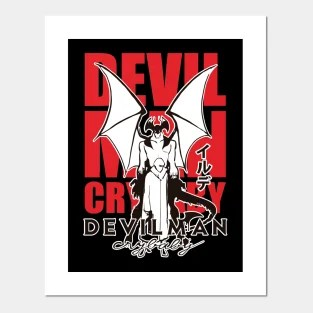 devilman crybaby posters and art prints