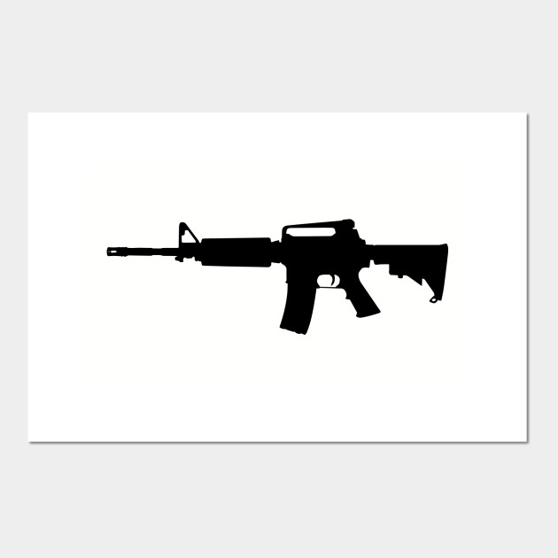 ar 15 rifle silhouette shooting