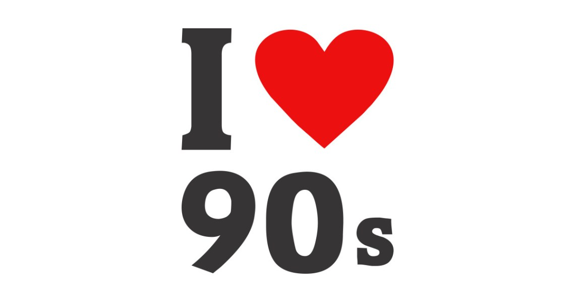 Download I love 90s! - I Love 90s - Sticker   TeePublic