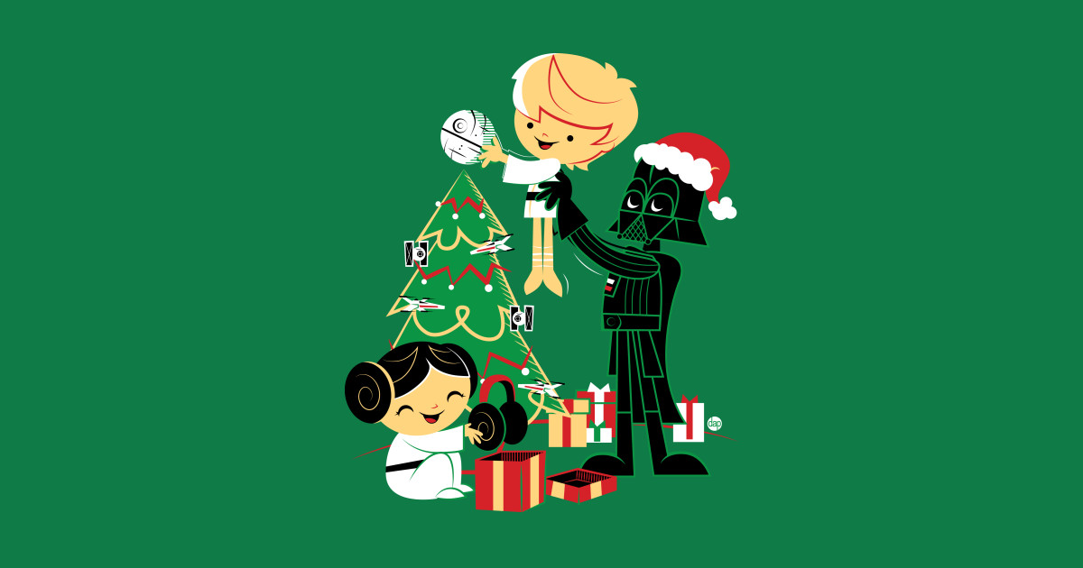 Silent Night Jedi Knight Star Wars Christmas T Shirt