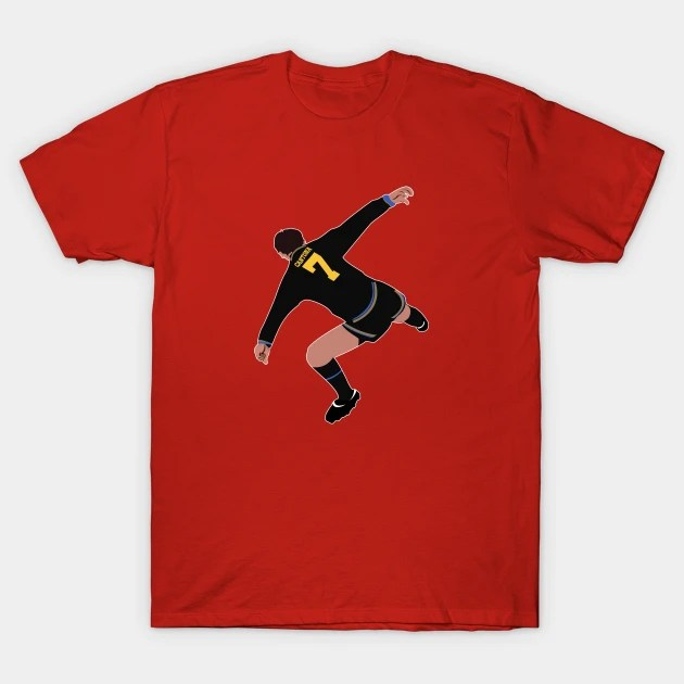 Eric cantona has revealed his only regret about his kung fu kick on a crystal palace. Eric Cantona Kung Fu Kick Eric Cantona T Shirt Teepublic Fr