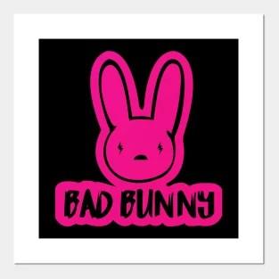 yhlqmdlg bad bunny posters and art