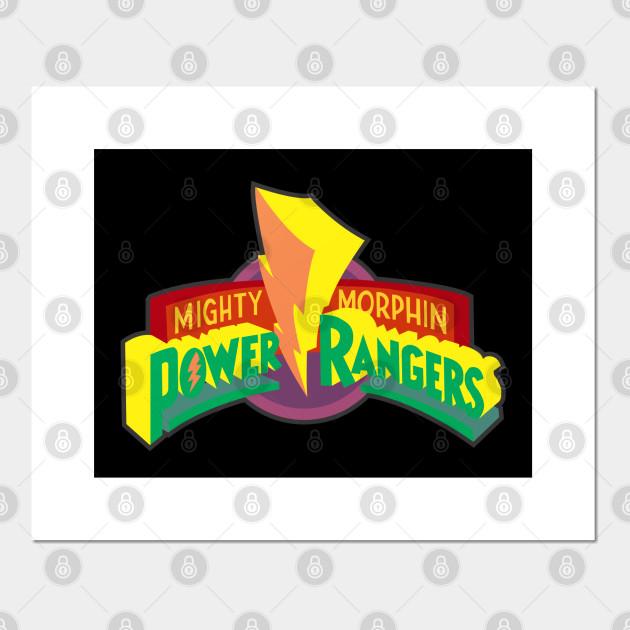 mighty morphin power ranger logo
