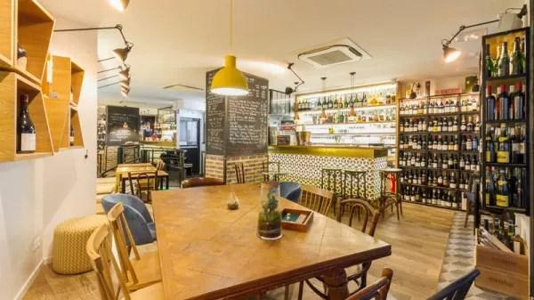 restaurant hubris bar a vin a paris