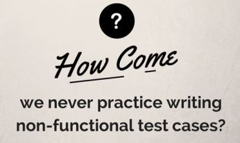 Is Non-functional Testing Always Carried out without Documentation and Test Cases? Why?