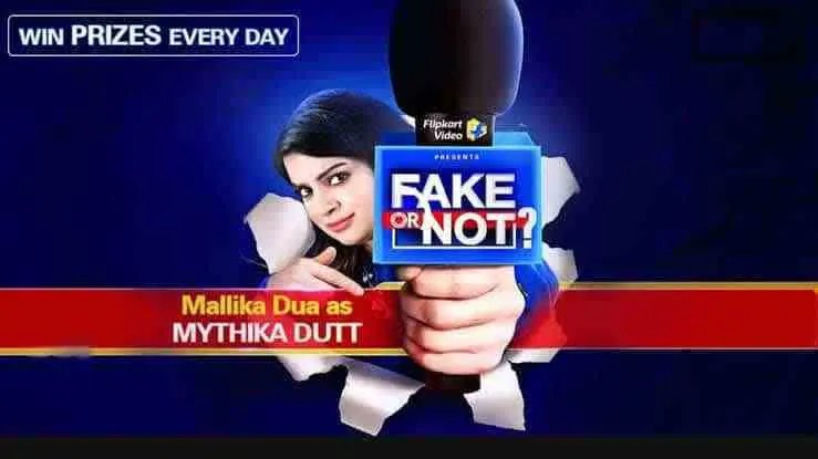 Flipkart Fake Or Not Fake Quiz Answers 07 November Win – Gifts – Daily Special Update