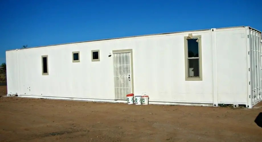 Aluminum Shipping Container Home 48 Tiny House For Sale In Phoenix Arizona Tiny House Listings
