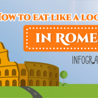 How To Eat Like A Local In Rome - Infographic