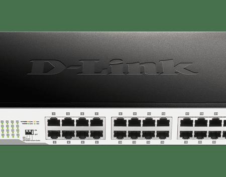 24-port D-link DGS-1024D  Unmanaged Gigabit Switch